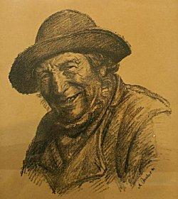 michael kvium litografi